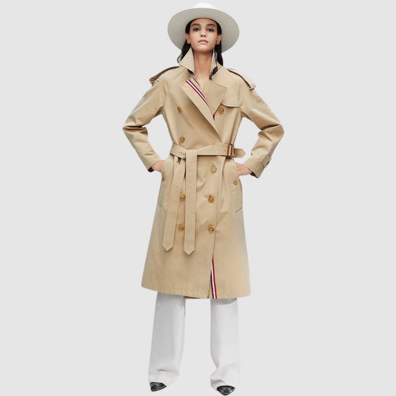 Faux Pas Inspired Trench