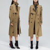 Golden Luxe Trench Coat