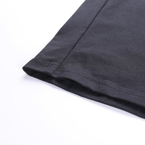Elegant Rolled Sleeve Tee (5 Colour Options)