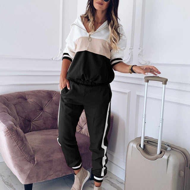 Classic Two Piece Tracksuit - Plus Sizes