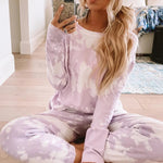 Bleached Out Femme Lounge Wear Set (4 Colour Options)