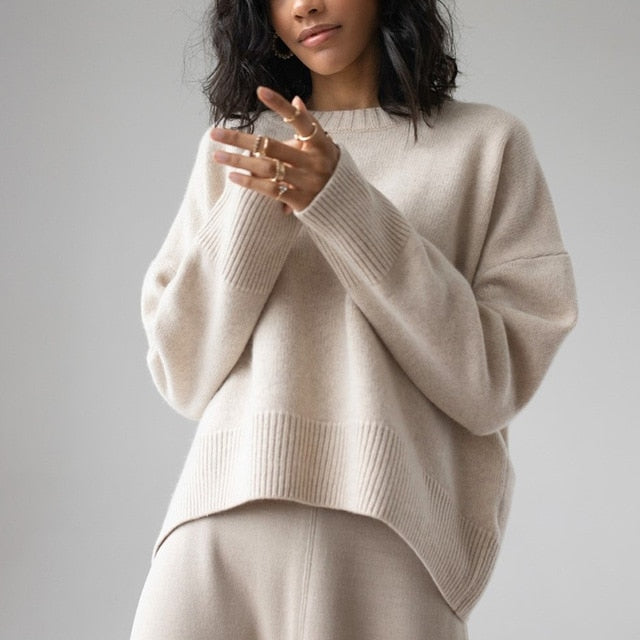 Fireside Women's Cozy Knitted Pullover