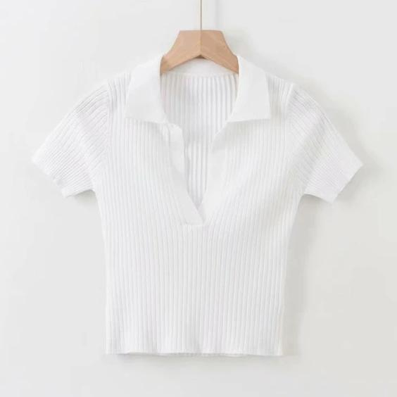 White Short Sleeve
