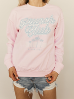Brunch Club Graphic Sweater