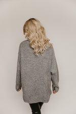 Lexie Mock Neck Oversized Sweater