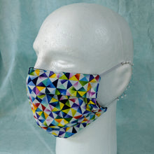 Load image into Gallery viewer, Prism Kaleidoscope Face Mask - Comfort Fit