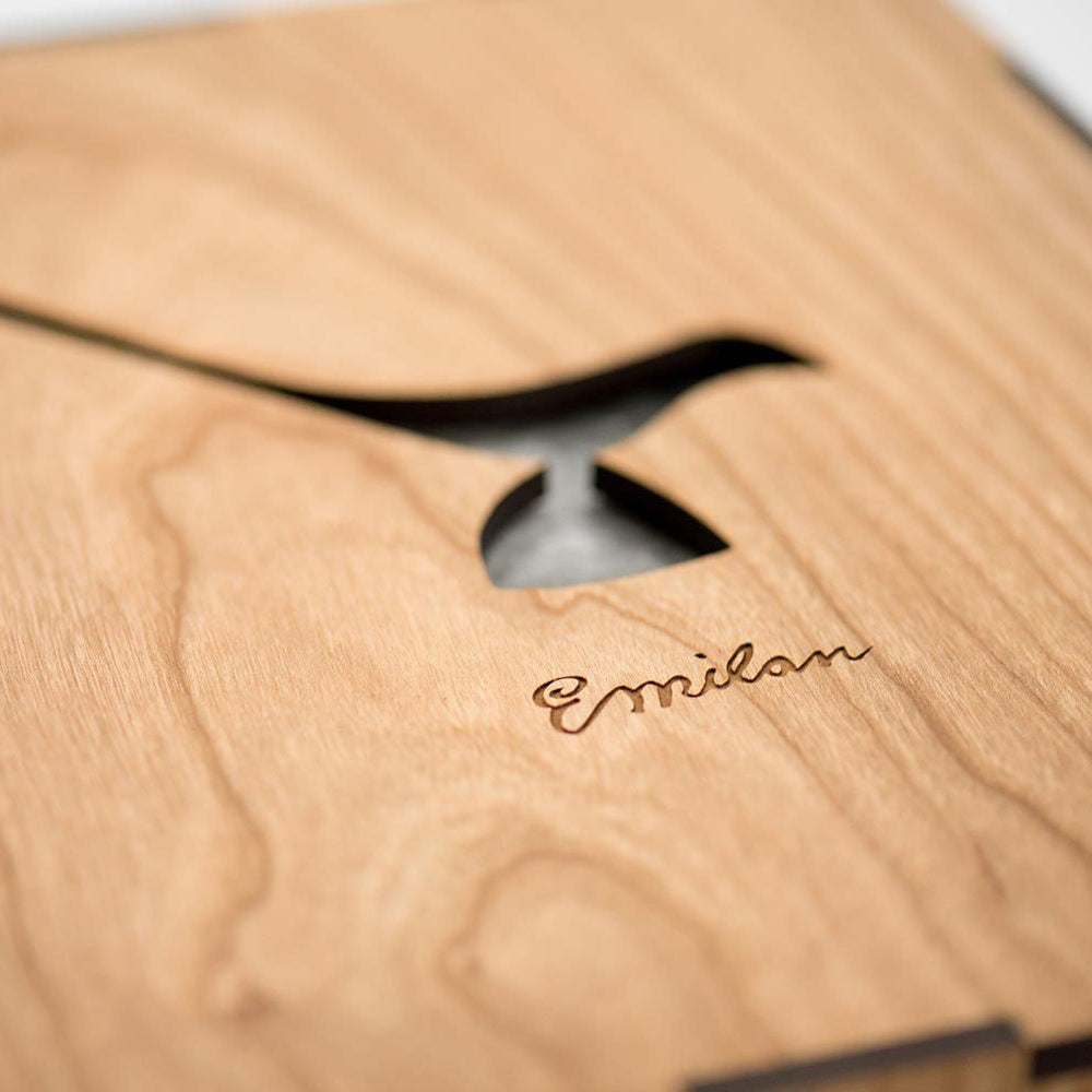 Wood Slip Case (ONLY)