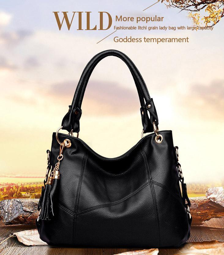 2018 New Luxury Genuine Leather Handbag