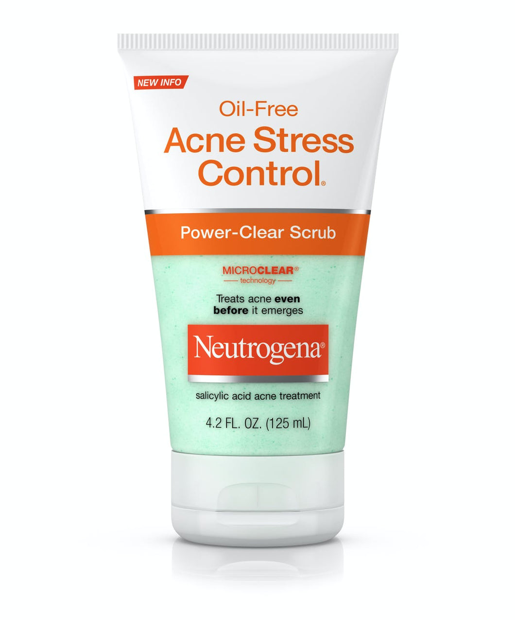 Neutrogena Oil-Free Acne Stress Control, Power-Clear Scrub