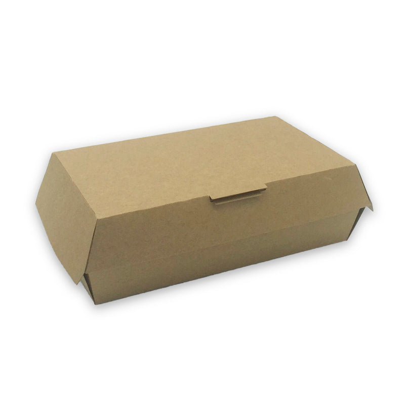 caja kraft para hot-dogs 100% reciclables