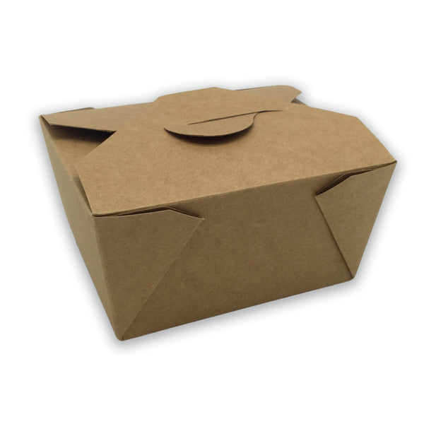 caja take away kraft 100% reciclable