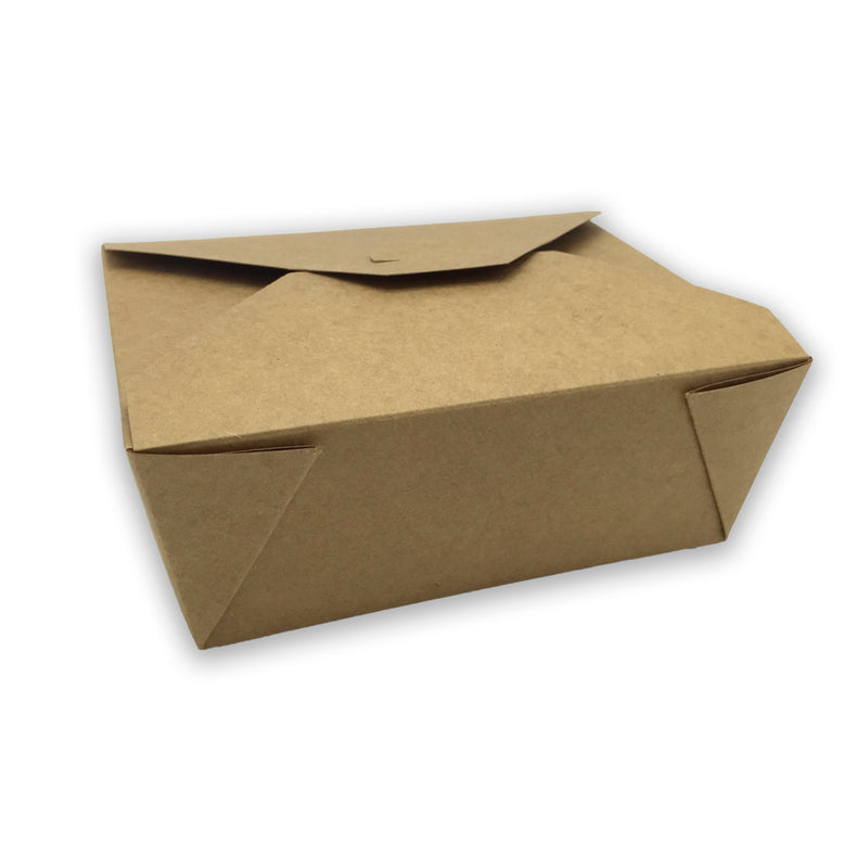 Caja Take Away Kraft 152 x 120 x 63mm (300 uds)