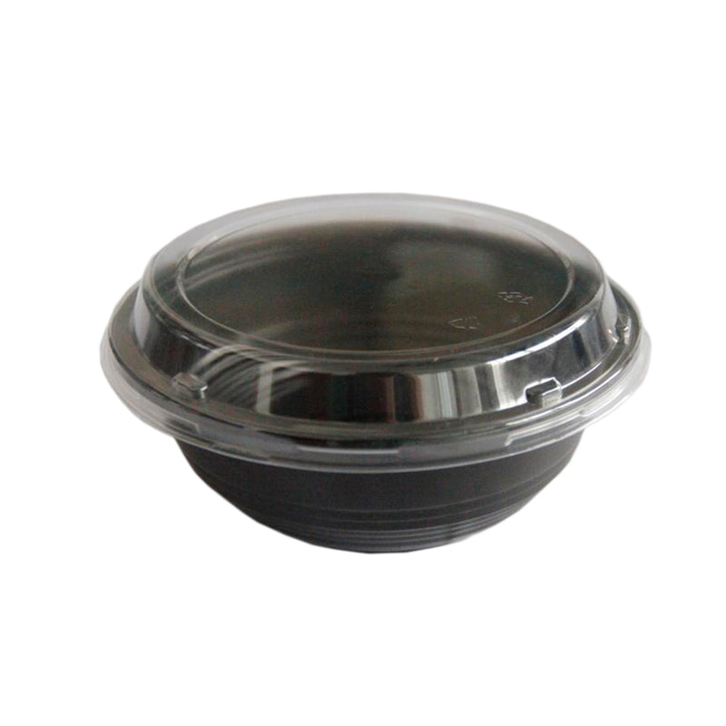 Bowl PP con tapa OPS antivaho 100% reciclable