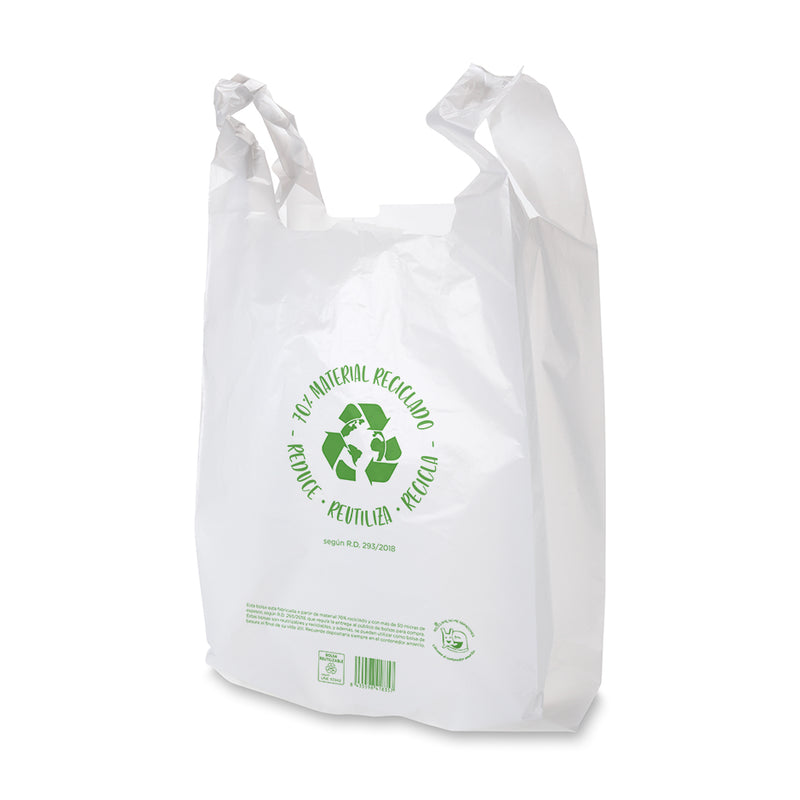 Bolsas Recicladas 50-70% 420 / 280 x 530mm (1.000 uds)