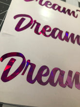 "Load image into Gallery viewer, DreamTank 6"" Single Color Vinyl Sticker"