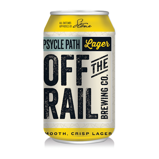 Off the Rail Beer - Lager