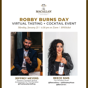 Robby Burns Day: The Macallan Tasting + Cocktail Class - Monday, January 25