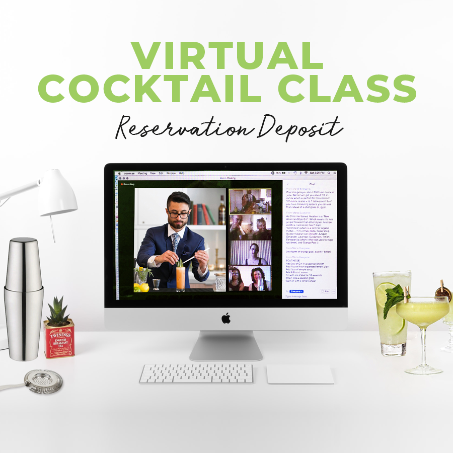 Virtual Cocktail Class Deposit