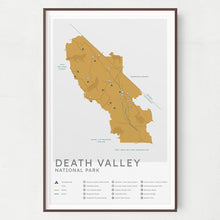 Load image into Gallery viewer, Death Valley National Park Map