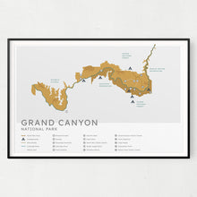 Load image into Gallery viewer, Grand Canyon National Park Map