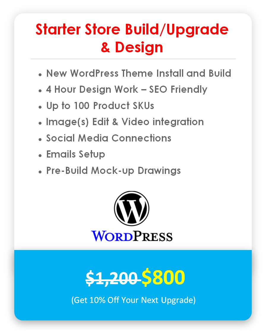 WordPress Starter Website Build - Completion & Launch