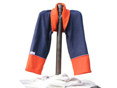 navy and orange Sleepy Sleeve®