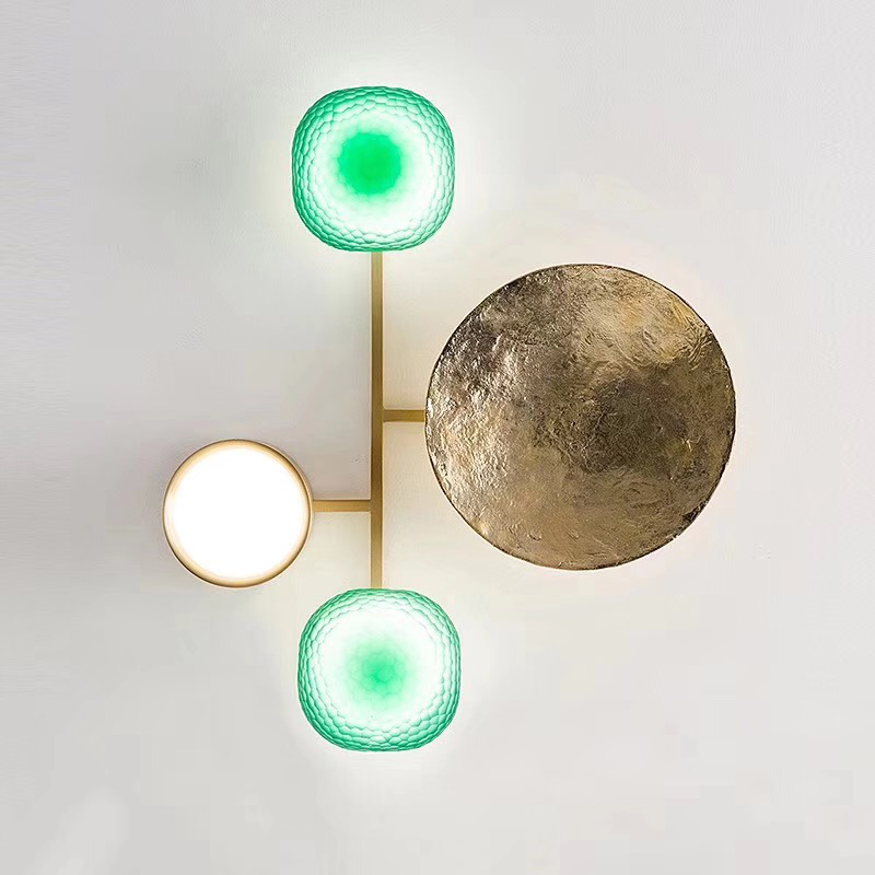 Gioielli Brass Wall Lamp