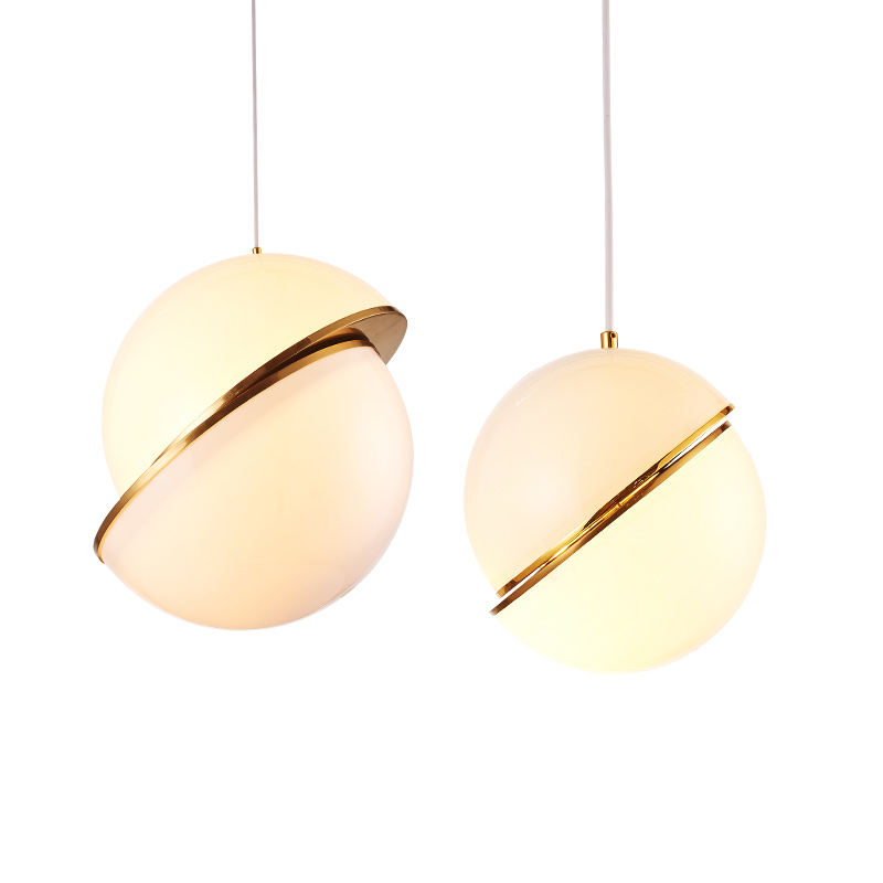 Modern Crescent Ceiling Light