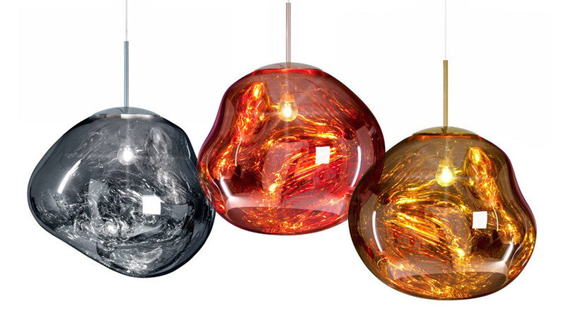 Post Modern Tom Dixon Melt Pendant Light