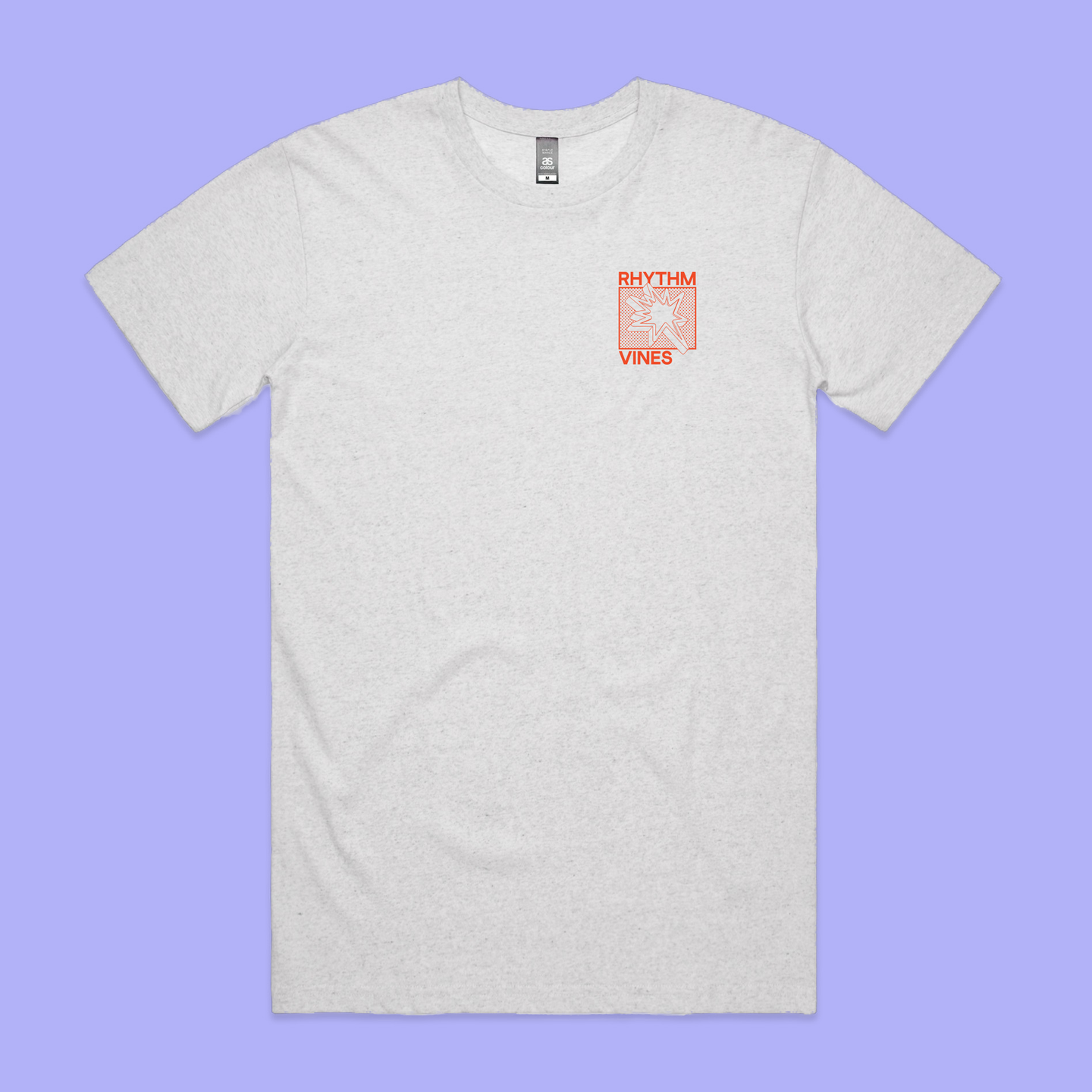 Cluster Tee - White Marle