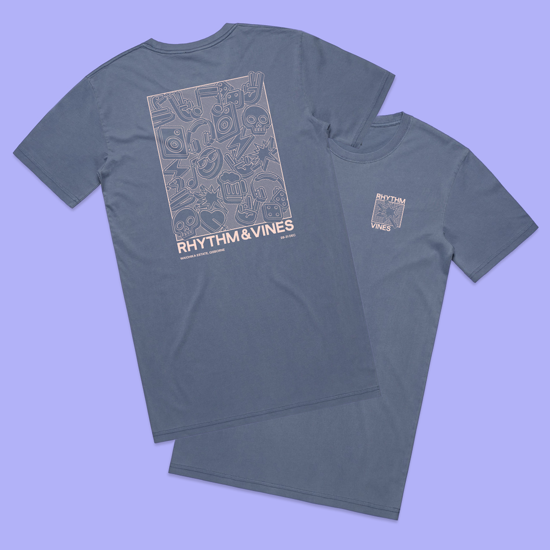 Cluster Tee - Blue
