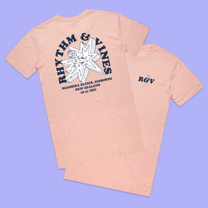 Broken Bang Tee - Peach