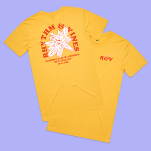 Broken Bang Tee - Yellow