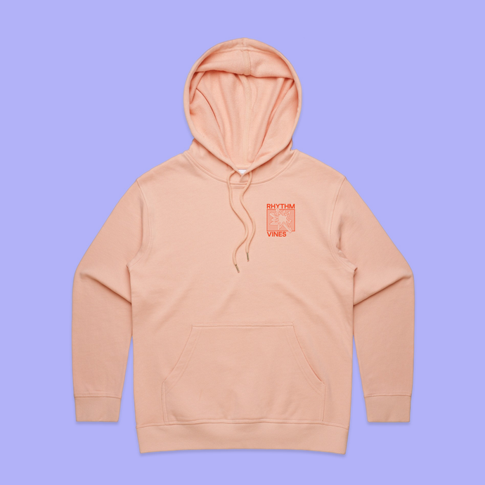 Collision Hood - Pale Pink