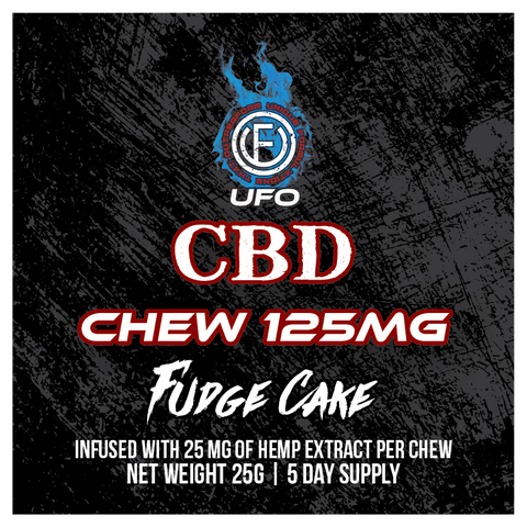 CBD Sports Chew Fudge Cake - 5 DAYS - UFOLabs