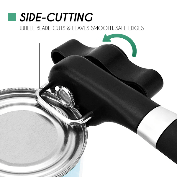 Stainless Steel Safe Cut Can Opener