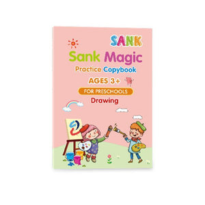 Sank Magic Practice Copybook