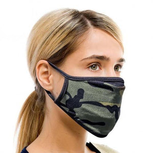 5 Pack: Fabric Non-Medical Face Masks - 12 Options