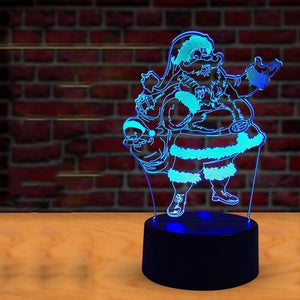 Creative Christmas Gift 3D Night Light