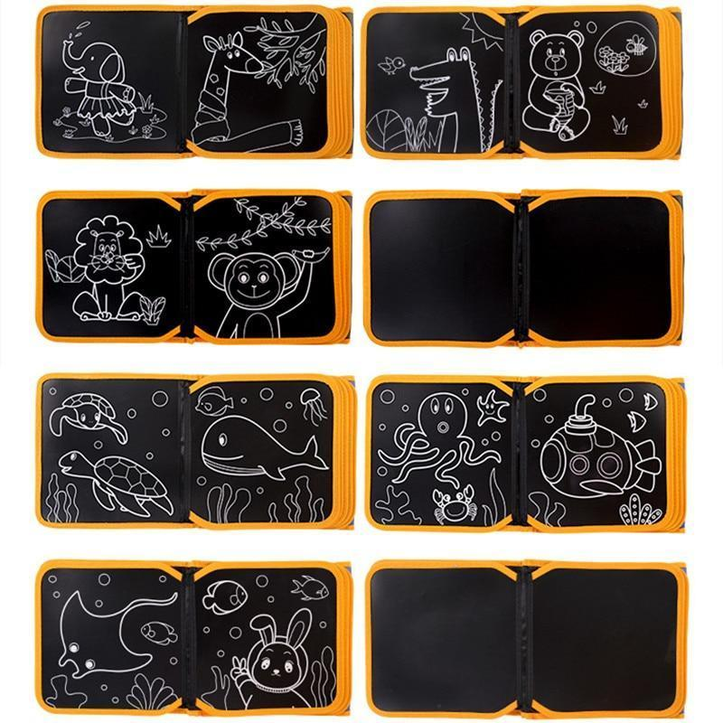 Soft Blackboard Children's Coloring Book