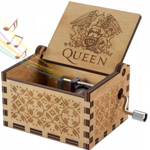 Queen Handshake Gift Birthday Gift Music Box
