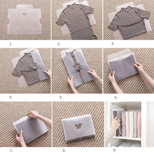 Anti-Wrinkle Folding Clothes Board