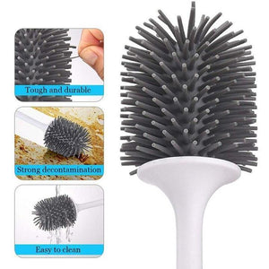King Clean Modern Hygienic Toilet Brush