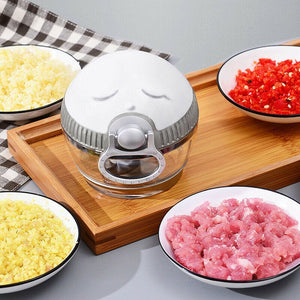 Cartoon Mini Manual Complementary Food Crusher