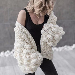 Handmade Bubble Cardigan