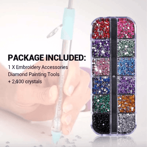 Blingaholic Accessories Diamond Applicator Set