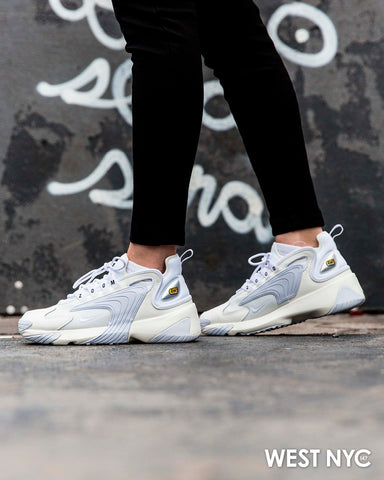 best sell on feet shots of running shoes Nike Air Zoom 2K