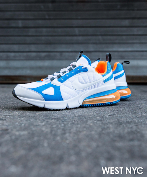 Weekends West Nike Air Max 270 Futura Blue Heron Total Orange
