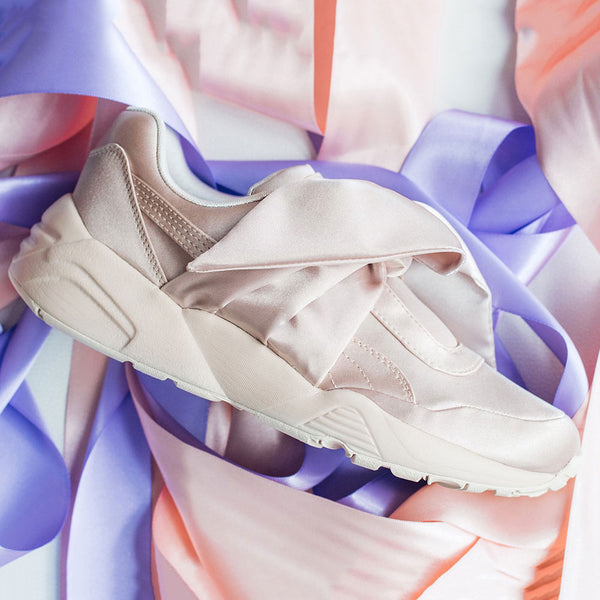fenty puma bow sneaker tint pink west nyc