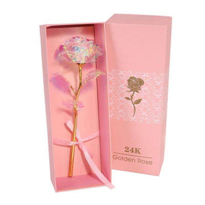 Gold Rose Flowers 24K With Gift Box - Diversoworld